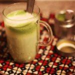 Sữa đậu nành trà xanh 2 trong 1 giải nhiệt giảm cân