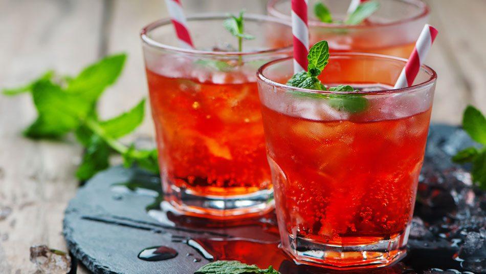 soda dâu
