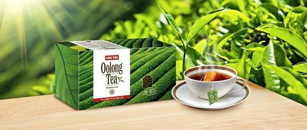 Trà oolong nguyên liệu pha chế trà sữa